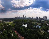 Piedmont Park and the Atlanta BeltLine